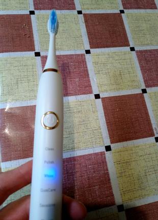Электрическая зубная щётка MEEEGOU -Z2+9 насадок - хватит надолго