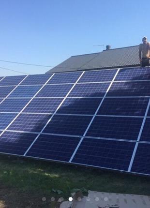 Монтаж и пусконаладка солнечных электростанций и коллекторов д...