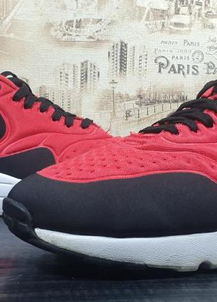 Кроссовки nike air max 1 ultra se red black