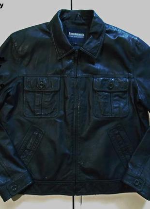 Lambretta carnaby street leather jacket,кожаная куртка.размер l
