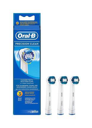 Насадки для зубних щіток oral-b precision clean ( ціна за одну...