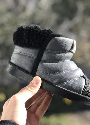 Fashion зимові сапожки ботінки