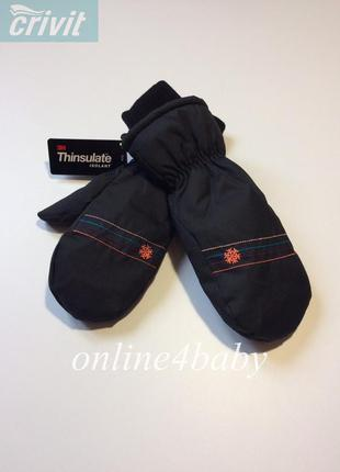 Термо варежки-краги рукавицы crivit thinsulate