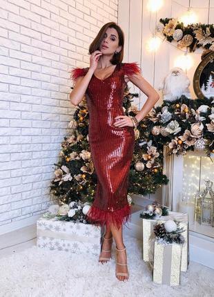 Платье на новый год / вечернее платье