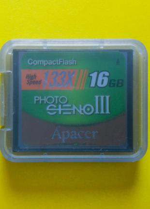 Карта памяти CF CompactFlash Compact Flash Apacer 16 GB для Canon