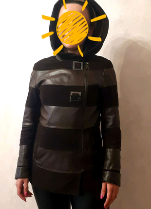 Продам кожаную куртку размер М