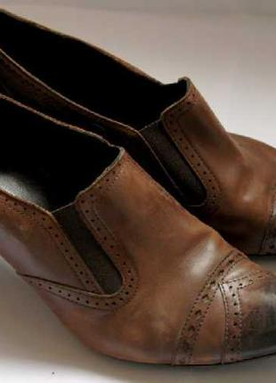 Туфли Kennel натуральная кожа размер 38,5 Германия