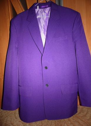 Яркий пиджак размер 50-52