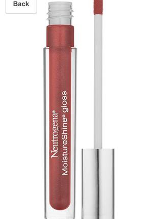 Блиск для губ neutrogena moisture shine lip gloss berry fit 3,6g