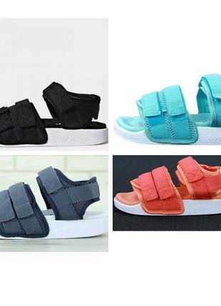 Женские Adidas Sandals женские сандалии адидас (черные, серые,...