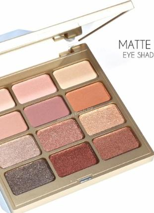 Stila- тени для век matte'n metal eye shadow