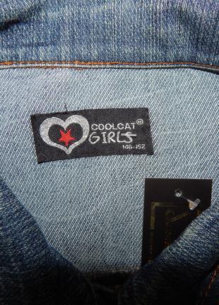 Куртка джинсовая женская coolcat GIRLS Vintage,рост 146-152, R...