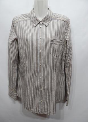 Блуза - рубашка легкая фирменная женская ESPRIT хлопок 50-52 р...