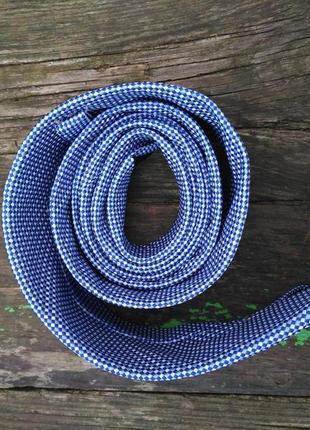 Фирменный узкий галстук краватка оригинальный подарок мужчине