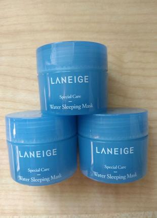 Увлажняющая ночная маска для лица Laneige Water Sleeping Mask15ml