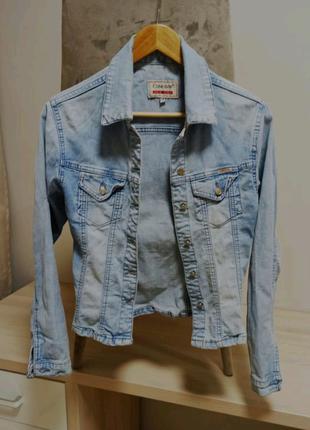 Курточка куртка джинс джинсова