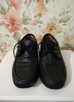 Кожаные туфли vero cuoio