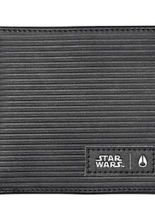 Портмоне кошелёк кожаный мужской nixon star wars оригинал из сша