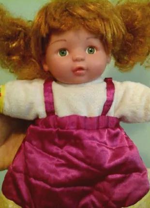 Мягконабивная кукла, выс.27 см