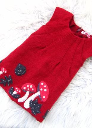 Стильное и качественное теплое нарядное платье сарафан dpam