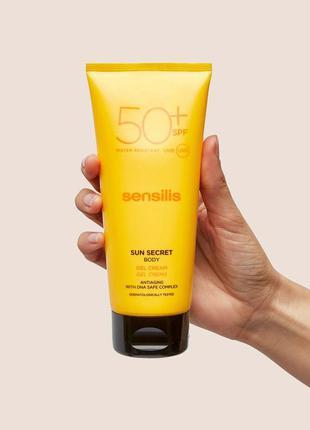Солнцезащитный крем sensilis spf 50 и подарок