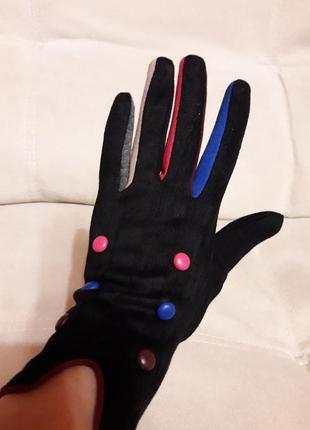 Перчатки женские, трикотажные