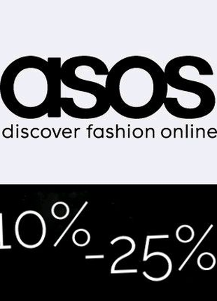 Промокоды ASOS -10% -25%
