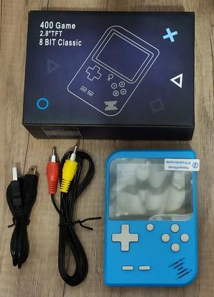 Портативная игровая приставка 400 игр dendy денди SEGA 8bit SUP G
