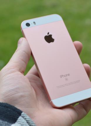 Apple iPhone SE 16 GB Neverlock Rose Gold 5se купить айфон роз...