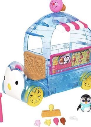 Enchantimals Preena Penguin Прина Пингвина и фургончик мороженого