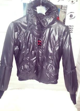 """Брендовая итальянская куртка/пуховик в стиле """"   ysl"""",brend!"""