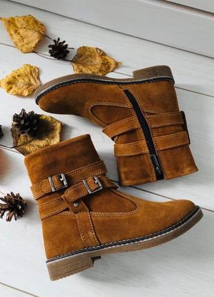 Lux обувь! натуральные стильные зимние ботинки сапоги для ваши...