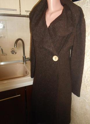 #mia moda#теплый кардиган с шерстью на запах #длинная кофта #