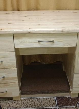Дерев'яний письмовий стіл4, без викрутасів, під замовлення