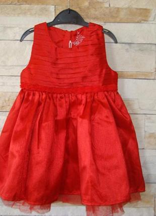 Распродажа! нарядное платье для девочки  tesco англия