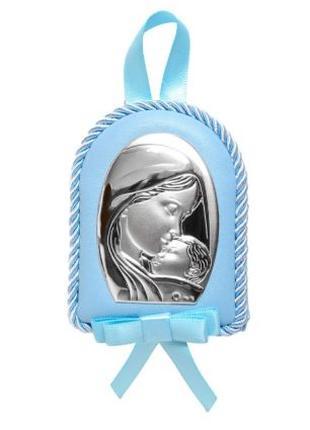 Детска Иконка на подушечке в подарок ребенку! 9х7см.