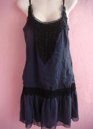 Платье гламурное, на 44-46 (евро 10-12)