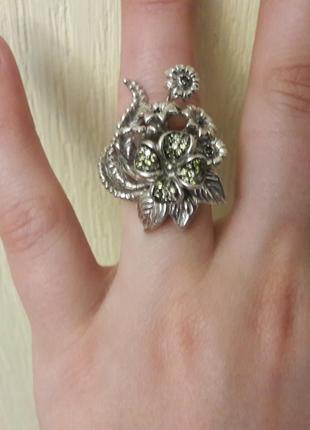 Оригинальное кольцо 925 пробы