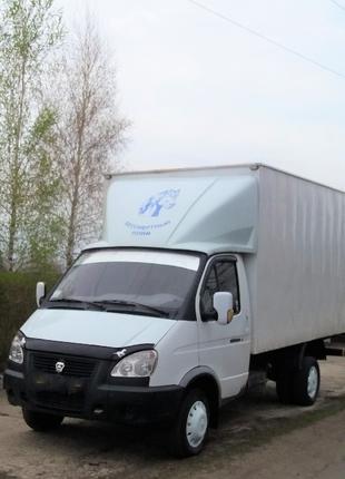 Вывоз строительного мусора ГАЗЕЛЬ термобудка 4.05 Х 1.95м Х 1....