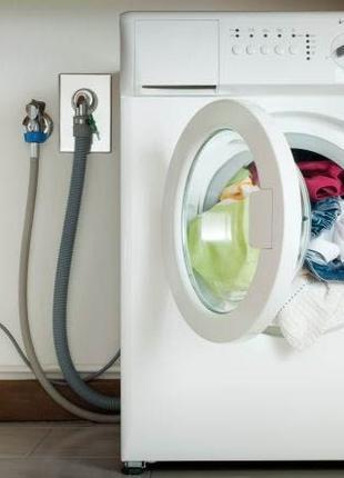 Подключение установка монтаж стиральной машины/машинки