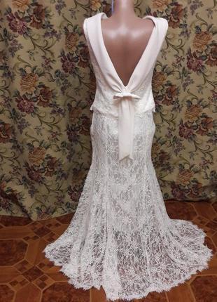 Свадебный костюм ( платье) 44-46 ( 36)