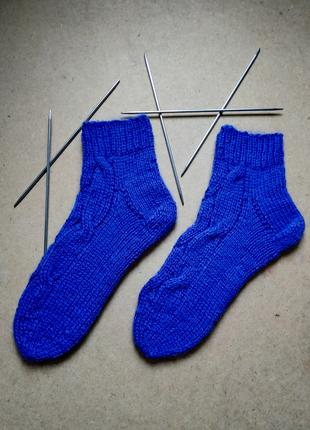 Вязаные носки для мужчин