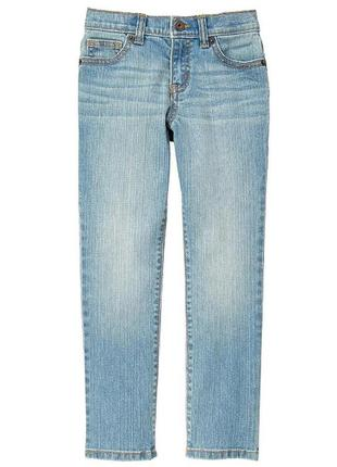 Стрейчовые джинсы скинни для мальчика 4-5 лет crazy