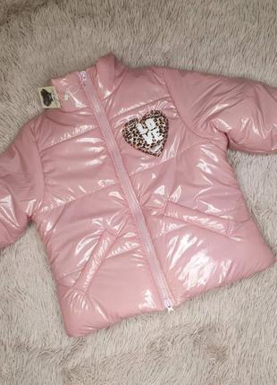 Детская демисезонная курточка, куртка на девочку