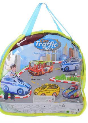 Палатка детская 0027 Такси, 99-55-55 см, окна-сетки, 1вход на ...