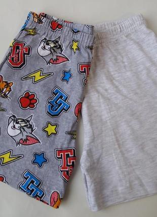 Пижама набор пижамные шорты 4-5 лет primark
