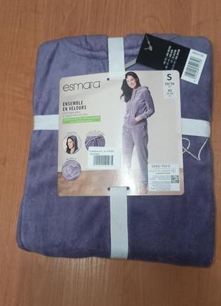 Премиум качество хлопковый велюровый костюм в упаковке на пода...