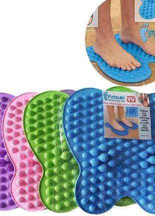 Коврик массажный для ног бабочка Futzuki Reflexology Mat Foot