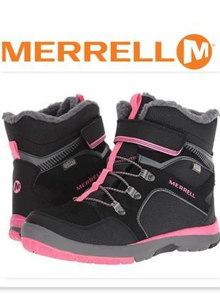 Merrell сапоги ботинки зимние оригинал из сша размер 35,5 36 36,5