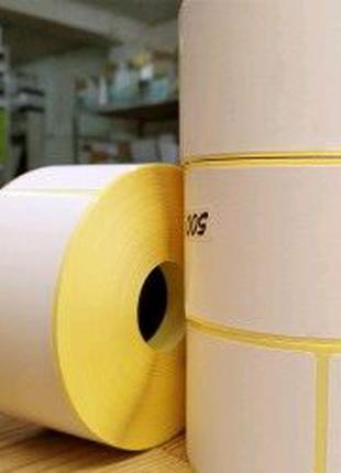 Термоетикетка рулон 500 штук 100*101.5 мм для Нової пошти УкрПапі